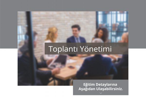 Toplantı Yönetimi