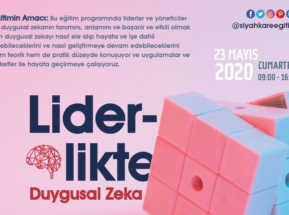 Liderlikte Duygusal Zeka – 23.05.2020